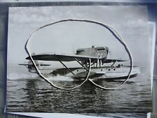 Lufthansa Dornier Do 8-t Wal Mail Seaplane / Flyingboat Photo 24 X 18 cm
