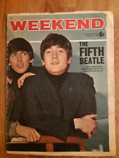 Rare weekend magazine January 28th 1965 the fifth Beatle Beatles
