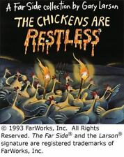 Far Side Ser.: The Chickens Are Restless by Gary Larson (1993, Trade Paperback)