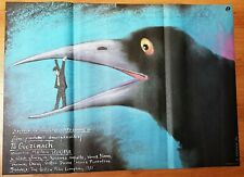 After hours, Polish poster, Movie poster, Pagowski, Martin Scorsese, 27x86in