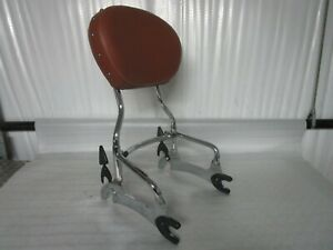 14-18 Indian Chief Quick Release Passenger Sissy Bar Backrest GENUINE INDIAN