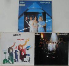 Abba Studio Alben Vinyl LP Bundle Sammlung 3x LP: Voulez-Vous / The Album / ...