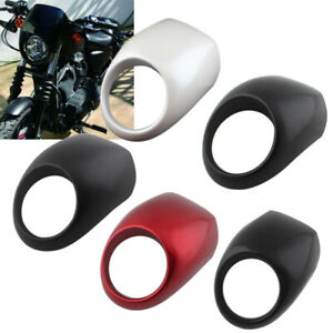 Front Headlight Cowl Fairing Light Cover For Harley Sportster Dyna XL 883 1200