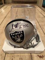 Marcus Allen Autographed/Signed Mini Helmet Holo Los Angeles Raiders LA B
