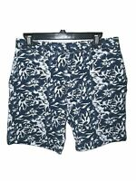 Mens SLATE & STONE Size W31 Shorts Blue White Floral Pockets