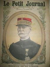 WW1 GENERAL GALLIENI MINISTRE DE LA GUERRE VENGEANCE LE PETIT JOURNAL 1915