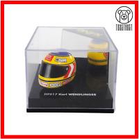 Formula 1 Mini Helmet HF 017 Sauber Karl Wendlinger Diecast Model Toy F1 by Onyx