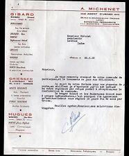 """ORLEANS & BOUSSAC (45 / 23) USINE de FERMETURES GIBARD """"A. MICHENET"""" en 1962"""