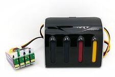 CISS CIS Continuous Ink System Fits Epson Stylus S22 SX125 SX130 SX235W NON-OEM