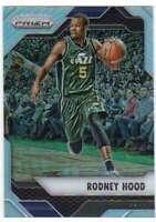 2016-17 Panini Prizm Basketball Silver Prizm #110 Rodney Hood Jazz