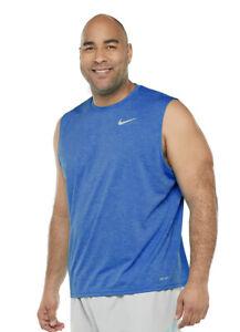 Nike Swim Men's Tall Essential Sleeveless Hydroguard Rash Guard # X-Large Tall