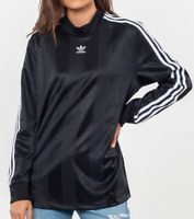 Adidas Womens Long Sleeve Originals Top Size Small NEW DH4239 Black RR3