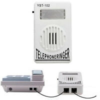 95dB Extra Loud External VoIP Phone Telephone Ringer Telephone Ringing Amplifier