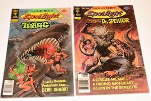 Gold Key Spotlight (Gold Key) #8 & #9 1977 Lot of 2 Comics Ungraded