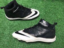 Nike Super Bad Strike D Men's Football Cleats 510951-001 Black / White 11