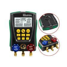 Pro Refrigeration Digital Manifold Gauge Hvac Vacuum Pressure Temp Tester Kit Us