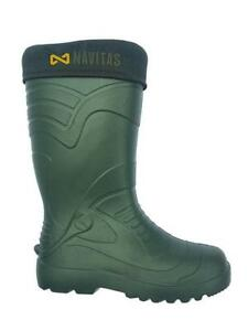 Navitas LITE Welly Insulated Wellies Boot *All Sizes Available* NEW Carp Fishing