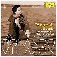 RONALDO VILLAZON - TREASURES OF BELCANTO  CD NEU BELLINI/DONIZETTI/ROSSINI