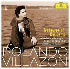 RONALDO VILLAZON - TREASURES OF BELCANTO  CD NEU BELLINI/DONIZETTI/ROSSINI