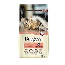 Burgess Adult Cat Scottish Salmon - 1.5kg - 614142