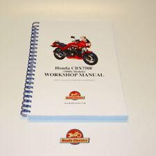 Manuales de motos CBX Honda