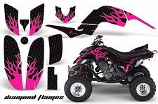 AMR Racing Yamaha Raptor660 Graphic Kit Wrap Quad Decals ATV 2001-2005 DFLAME P