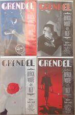 Grendel Black White & Red #1, 2, 3, 4 Complete Set Matt Wagner Dark Horse