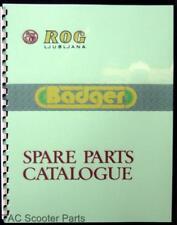 Rog Badger Moped Parts Manual