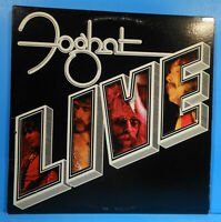 "FOGHAT LIVE VINYL LP 1977 ORIGINAL PRESS ""SLOW RIDE"" GREAT CONDITION! VG+/VG+!!B"