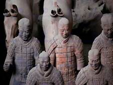 MODERN PHOTOGRAPHY TERRACOTTA ARMY CHINA WARRIOR LARGE POSTER ART PRINT BB3191A