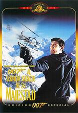 PELICULA DVD 007 AL SERVICIO DE SU MAJESTAD EDICION ESPECIAL PRECINTADA