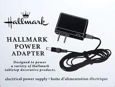 2013 2014 etc POWER ADAPTER for HALLMARK Indoor Holiday Xmas Tabletop Snowglobes