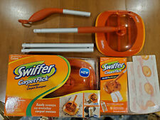 Swiffer Carpet Flick, Lot of 2, One New, One Used, With Refills