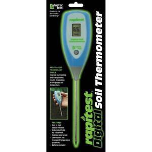 Luster Leaf 1625 Digital Soil Thermometer DIGITAL Soil Plant Garden Meter Test