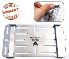 BOCAST Schnellwechselsystem Kennzeichenhalter Ami Leichtkraftrad 255x130 und 240
