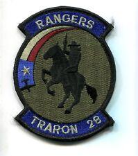VT-28 RANGERS US NAVY USMC Subdued Training Squadron Jacket Patch