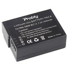 1Pcs DMW-BLC12 Battery For Panasonic DMC-GH2 GH2GK LUX4 G7 G5 G6FZ200 FZ300