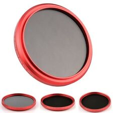 Red Ring Slim FOTGA 58mm Fader Variable Neutral Density ND Filter ND2 to ND400