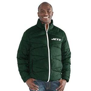 New York Jets  G-III Sports Mens Blitz Full Zip Packable Jacket