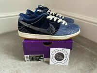 Nike SB Dunk Low Premium Denim Sashiko UK 7.5 EU 42 BNWT 100% Authentic