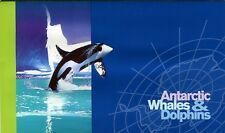 1995 AAT Whales & Dolphins Set Of 4 & Mini Sheet Stamp Pack, Unopened, MC