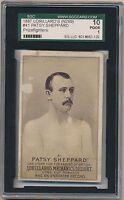 1887 PATSY SHEPPARD N269 Lorillards Mechanics Delight Boxing Card
