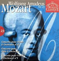 Compilation Les Triomphes De La Musique Classique CD Mozart - Vol.23 -