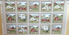 "1 Wonderful ""Amish Country Heading Home"" Fabric Quilting/Wallhanging Panel"