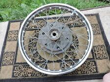 """Vintage 19"""" Front Wheel WM 2 19 England Jones UF Triumph Norton BSA Vincent ?"""