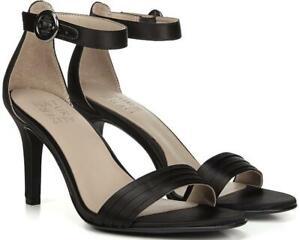 Naturalizer Kinsley 2 Women Strappy Sandals Black Satin