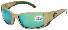 Costa Del Mar Blackfin Sunglasses BL-248-OGMGLP Sand   Green 580G Polarized