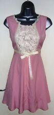 LAYERS PINK EMPIRE LINE SHORT LENGTH DRESS SIZE 2