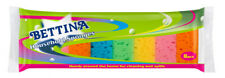 2 x Bettina Household Sponges - 8 Piece Pack - Handy For Cleaning And Spills