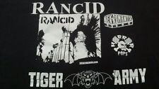 Rancid/Tiger Army/Nekromantix/Horror Pops XL? Rare Black Shirt